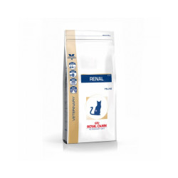 Croquettes Royal Canin Veterinary Diet Renal pour chats Sac 500 g