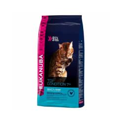 Croquettes pour chat senior Eukanuba Sac 2 kg