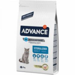 Croquettes pour chat Sterilised Advance Dinde Sac 3 kg