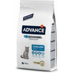 Croquettes pour chat Sterilised Advance Dinde Sac 1,5 kg