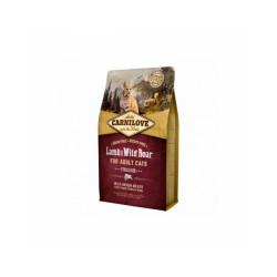 Croquettes pour chat stérilisé Carnilove Agneau & Sanglier Sac 2 kg