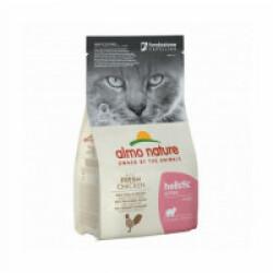 Croquettes pour chaton Almo Nature Holistic au poulet et riz Sac 2 kg