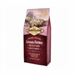 Croquettes pour chaton Carnilove healthy growth Saumon & Dinde Sac 6 kg