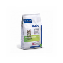 Croquettes Virbac HPM Baby Pre Neutered pour chat Sac 400 g (DLUO 6 mois)