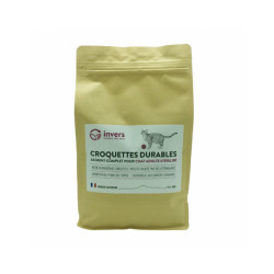 Croquettes pour chats stérilisés aux protéines d'insectes - Sac 3 kg