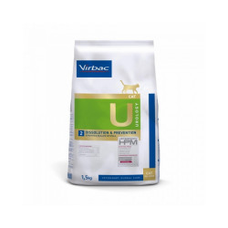 Croquettes pour chats Virbac Veterinary HPM Urology Dissolution & Prevention