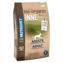 Croquettes pour chien adulte 2 à 7 ans Nutrivet Inne Bio Sac 3 kg (DLUO 6 mois)