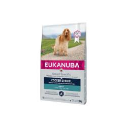 Croquettes pour chien adulte Cocker Spaniel Eukanuba Sac 7,5 kg