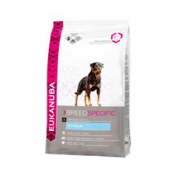 Croquettes pour chien adulte Eukanuba Rottweiler Sac 12 kg (DLUO 3 mois)