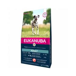 Croquettes pour chien adulte Eukanuba saumon Sac 12 kg