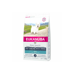 Croquettes Eukanuba Adulte Westie Sac 2,5 kg (DLUO 3 mois)