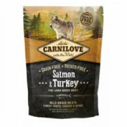 Croquettes pour chien adulte grande race Carnilove saumon & dinde Sac 1,5 kg
