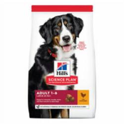 Croquettes pour chien adulte grandes races Hill's Science Plan Advanced Fitness poulet Sac 14 kg
