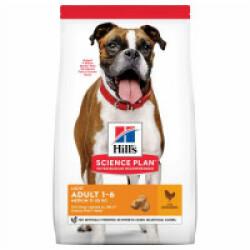Croquettes pour chien adulte Hill's Science Plan Light Poulet Sac 14 kg