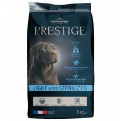 Croquettes pour chien adulte light / sterilized Prestige Flatazor Pro-Nutrition Sac 3 kg