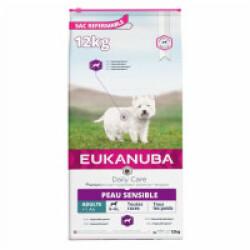Croquettes pour chien adulte peau sensible Eukanuba Adulte Daily Care Sac 12 kg