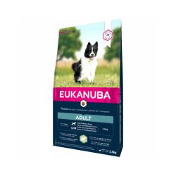 Croquettes pour chien adulte petite et moyenne race Eukanuba agneau et riz Sac 12 kg