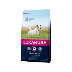 Croquettes pour chien adulte petites races Eukanuba au poulet