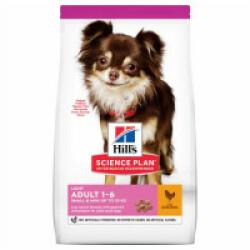 Croquettes pour chien adulte petites races Hill's Science Plan Light Sac 1,5 kg