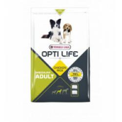 Croquettes pour chien adulte taille moyenne Opti Life Sac 2,5 kg