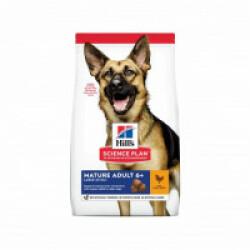 Croquettes pour chien mature actif 6+ grandes races Hill's Science Plan Longevity Sac 14 kg
