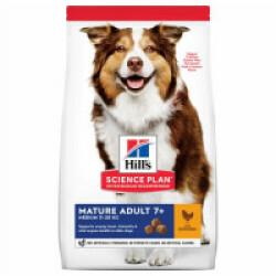Croquettes pour chien mature Hill's Science Plan Vitalité et Longévité Sac 14 kg