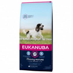 Croquettes pour chien mature senior race moyenne Eukanuba Sac 3 kg