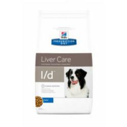 Croquettes pour chien Prescription Diet Canine L/D Hill's Sac 2 kg