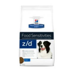 Croquettes Ultra Allergen Prescription Diet Canine Z/D Hill's Sac 3 kg