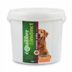 Croquettes pour chien Senior Equilibre & Instinct volaille fraîche - Seau 5 kg