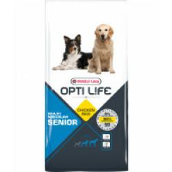 Croquettes pour chien senior moyenne et grande taille Opti Life Sac 12,5 kg
