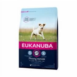 Croquettes pour chien senior petites races Eukanuba poulet Sac 3 kg