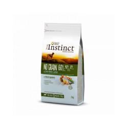 Croquettes pour chien True Instinct No Grain sans céréales Medium & Maxi Adult Saumon Sac 2 kg