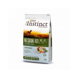 Croquettes pour chien True Instinct No Grain sans céréales Medium & Maxi Adult Saumon Sac 12 kg