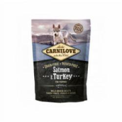 Croquettes pour chiot Carnilove saumon & dinde Sac 1,5 kg