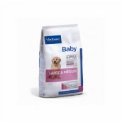 Croquettes Virbac HPM Baby Large & Medium pour chien Sac 3 kg
