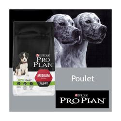 Croquettes pour chiot Pro Plan Puppy Medium au poulet Sac 12 kg