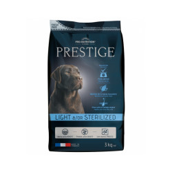 Croquettes Prestige adulte light / sterilized Flatazor Pro Nutrition pour chien
