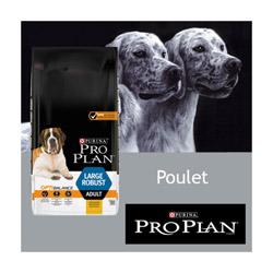 Croquettes Pro Plan chien adulte Large Robust poulet Sac 14 kg