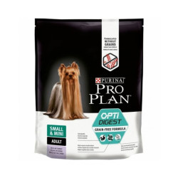 Croquettes ProPlan Grain Free OptiDigest Small Mini Adulte pour chien Sac 7 kg