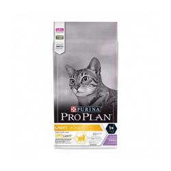 Croquettes Pro Plan Light chat adulte à la dinde sac 3 kg