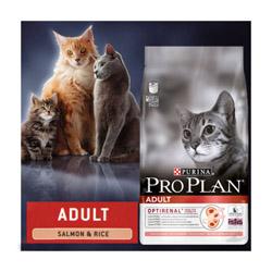 Croquettes Pro Plan pour chat adulte Original Adult au saumon sac 3 kg