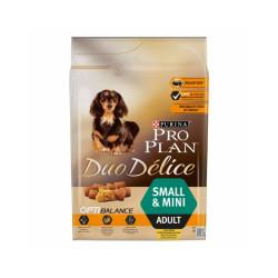 Croquettes Pro Plan Small Adult Duo Delice Poulet pour chien Sac 2,5 kg
