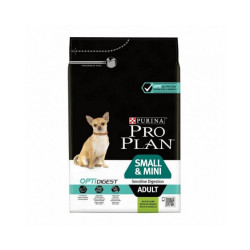 Croquettes Pro Plan Small et Mini Adult Sensitive Digestion OptiDigest