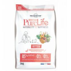 Croquettes Pure Life kitten sans céréales Flatazor Pro Nutrition pour chaton Sac 2 kg