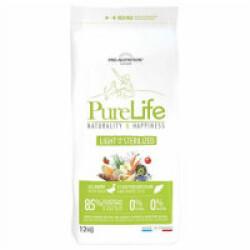 Croquettes Pure Life Light & Sterilized sans céréales Flatazor Pro Nutrition pour chien stérilisé Sac 12 kg