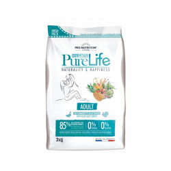 Croquettes Pure Life sans céréales Flatazor Pro Nutrition pour chat