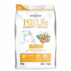 Croquettes Pure Life Sterilized sans céréales Flatazor Pro Nutrition pour chat stérilisé