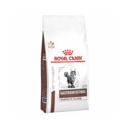 Croquettes Royal Canin Veterinary Diet Gastro Intestinal Moderate Calorie pour chats