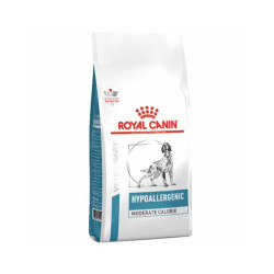 Croquettes Royal Canin Veterinary Diet Hypoallergenic Moderate Calorie pour chiens